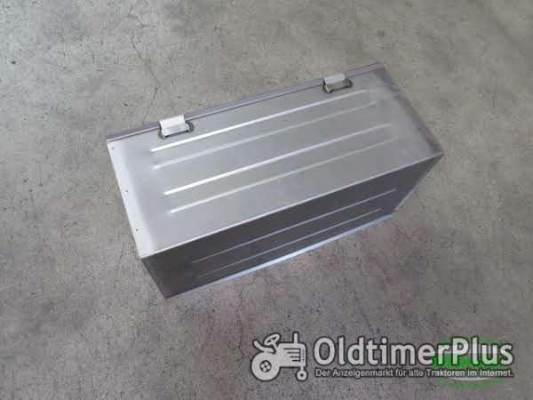 Unimog U406 U417 Batteriekasten 2-teilig (neue Ausführung) Foto 1
