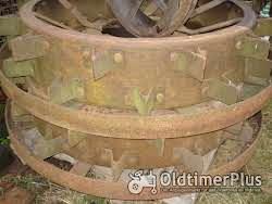 LANZ Eisenräder vo grossen Glühkopf Foto 3