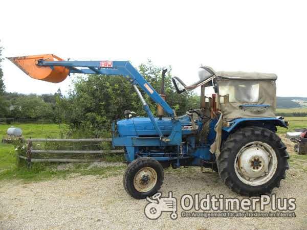 Ford Dextra 2000, Frontlader, Verdeck, aus 2. Hand, 34 PS Foto 1