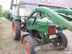 Fendt Farmer 3 S mit Frontlader Foto 4