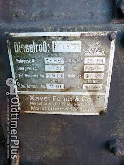 Fendt Fendt Dieselross F 15 G in Original Oldtimer in Original Patina. Foto 11