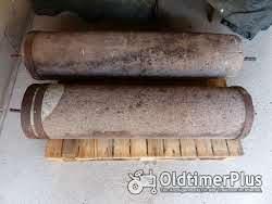 Sonstige 2 alte Sandstein Walzen