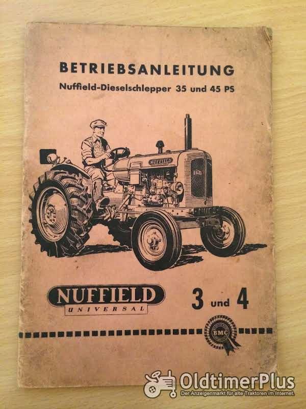 Nuffield 3 und 4 Betriebsanleitung Foto 1