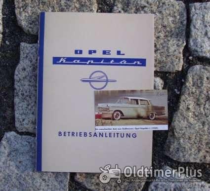 Betriebsanleitung Opel Kapitän P-LV 1960 Foto 1