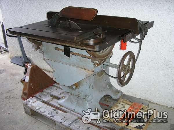 Schreiner-Tischkreissäge Foto 1