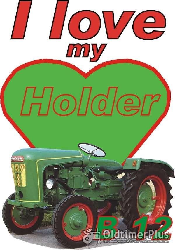 I love Holder B 12  T-Shirt Foto 1