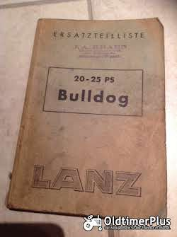 Literatur Lanz Bulldog Ersatzteilliste
