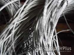 Drahtseil 4mm , ca 1500m lang Stahlseil Stahldrahtseil Foto 2