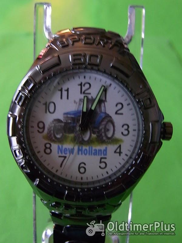 New Holland Metallarmbanduhr Foto 1