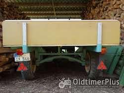 MAN -Schlepper Traktor 25 PS Sehr guter Originalzustand mit passendem Anhänger Foto 10