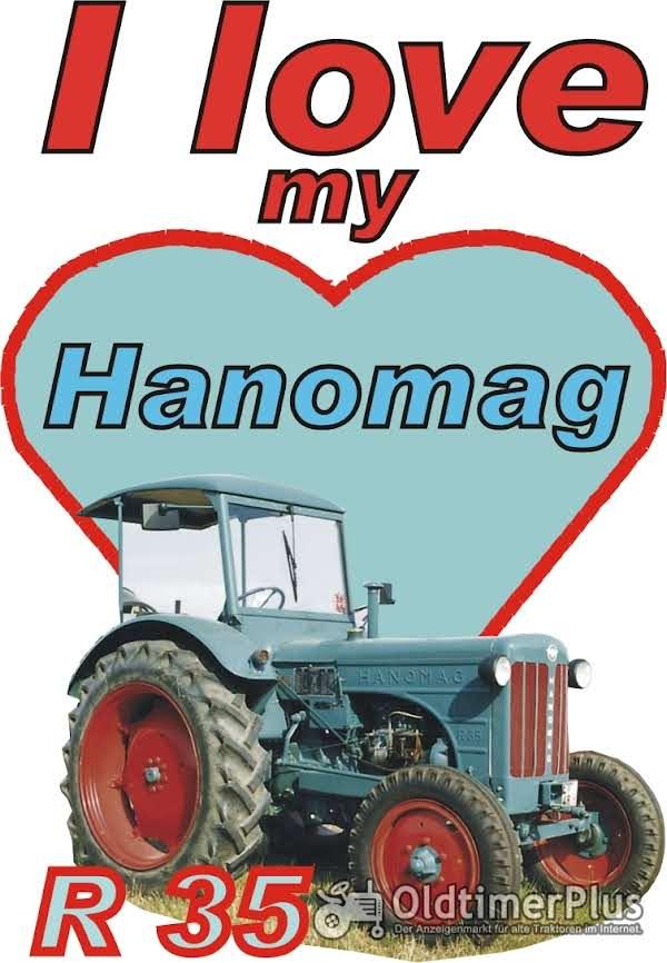 I love Hanomag R 35  T-Shirt Foto 1
