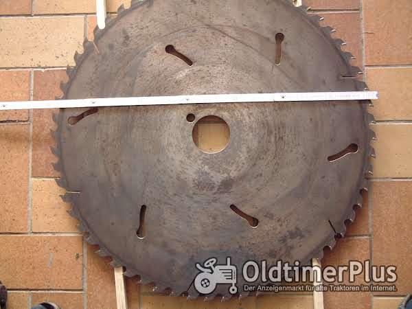 Hartmetallsägeblatt Sägeblatt Holzspalter Foto 1