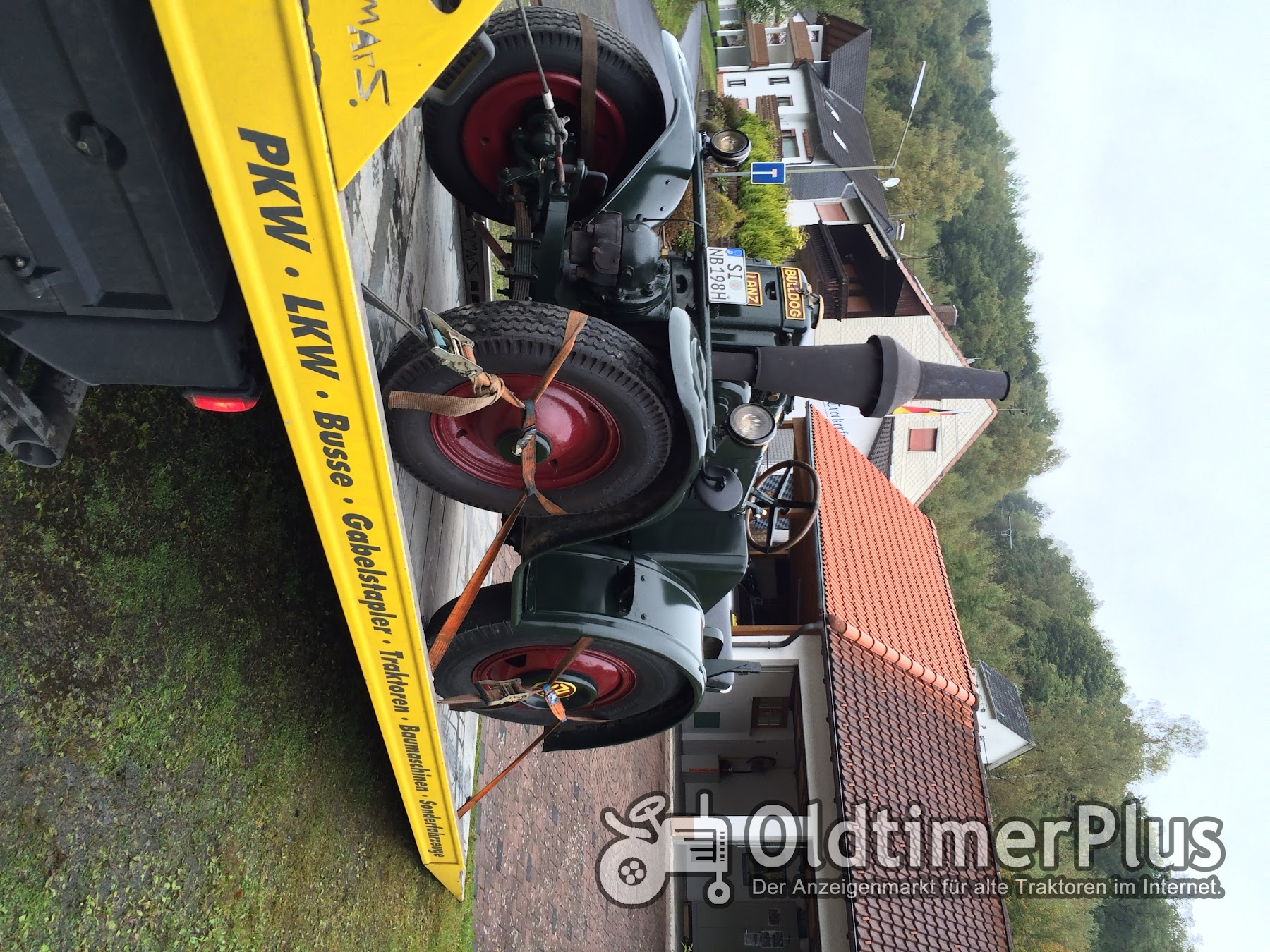 Traktortransporte Treckertransporte , Lanz Bulldog , Eicher , Porsche , Hanomag , IHC , Fendt , Deutz , Eicher Foto 3