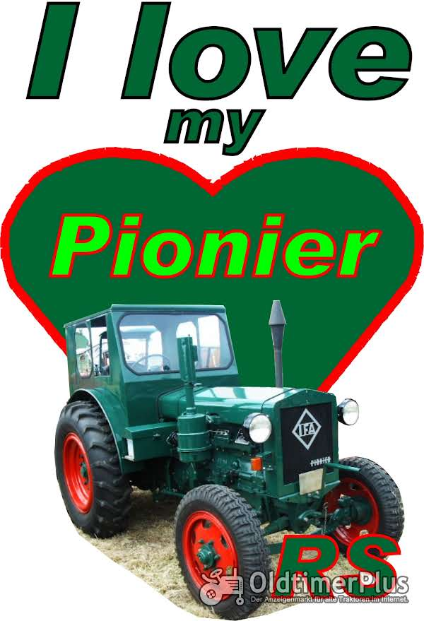 I love Pionier RS  T-Shirt Foto 1