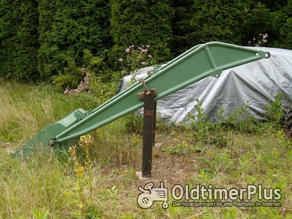 Wittenberg Frontlader vom MAN C40A Foto 1