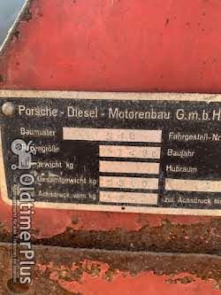"""Porsche Super L 318 319 """"kleiner Master"""" Traktor Trecker Schlepper Foto 7"""