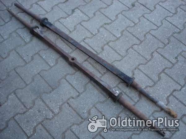 Holzwagen/Leiterwagen 2 Achsen Foto 1