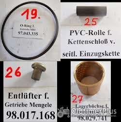 Mengele Maishäcksler, Ersatzteile, MB2, MB3, MB280, MB350, usw. Foto 9
