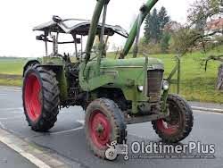 Fendt Farmer 3 S mit Verdeck Frontlader Schnellgang in Original Patina photo 2