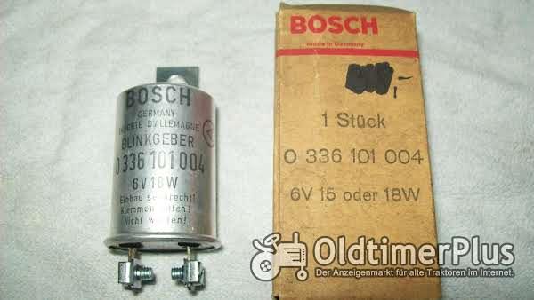 Bosch 0336101004 BLINKGEBER 6V 15 oder18W neu Foto 1