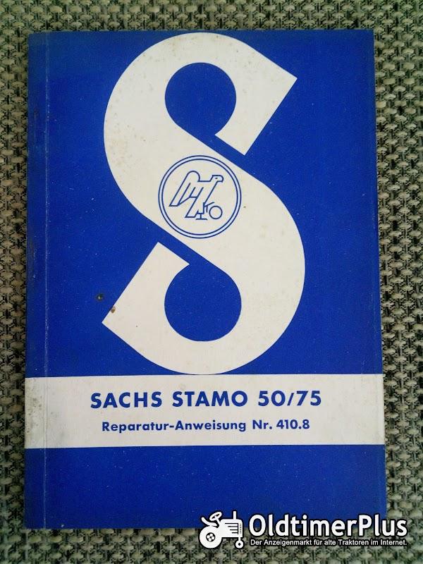 Sachs Stamo 50 / 75 Reparaturanweisung Nr. 410.8 Foto 1