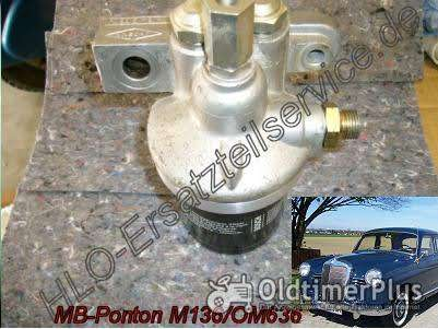 PKW 170 170D 170S 180 180 Mercedes Ponton 170SD  M136 OM636   Ölfilter-Umbausatz Adapter Umbausatz Foto 1