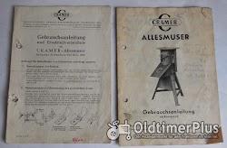 Cramer, Weiß, Weiss, Muser, Futtermuser, Allesmuser, Futterhäcksler Foto 3