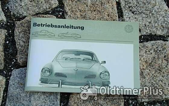 Betriebsanleitung VW 1600 Karmann Ghia 1970 Foto 1