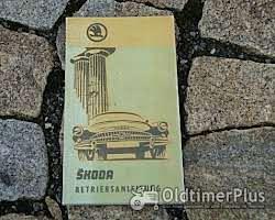 Literatur Betriebsanleitung Skoda Octavia / Octavia Super 1960
