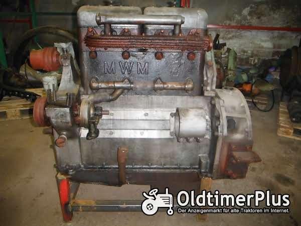 Mwm Vorkriegs Lkw motor Foto 1