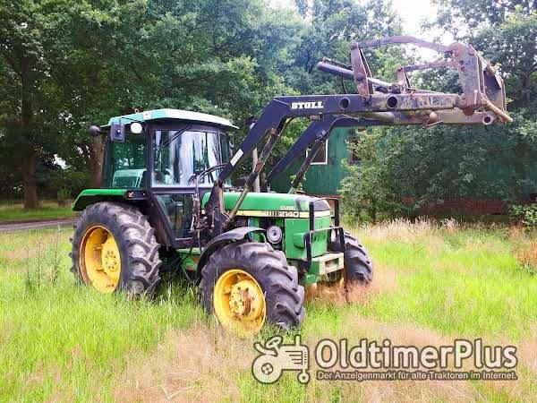 John Deere 2140 Frontlader+Druckluft Foto 1