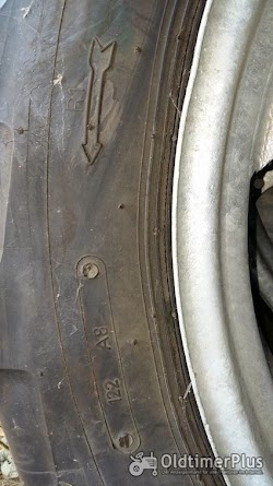 Hanomag R322 Granit Taurus Vorder-Reifen für  auf Felge Foto 3