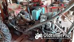 Eigenbau Diesel Traktor mit Schiebeschild, Schaufel & Stabler Foto 4