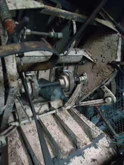 Lanz Heinrich  Dreschmaschine mit Presse Foto 4