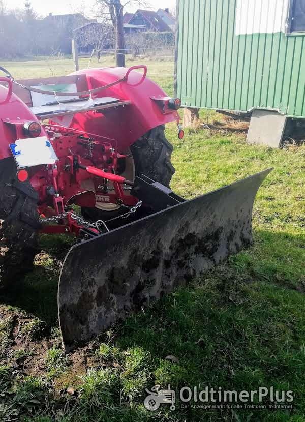Planierschild, Schneeschild, Schiebeschild für 3 Punkt Hydraulik Oldtimer Schlepper Traktor Foto 1