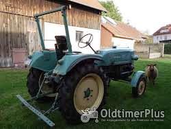 MAN -Schlepper Traktor 25 PS Sehr guter Originalzustand mit passendem Anhänger Foto 3