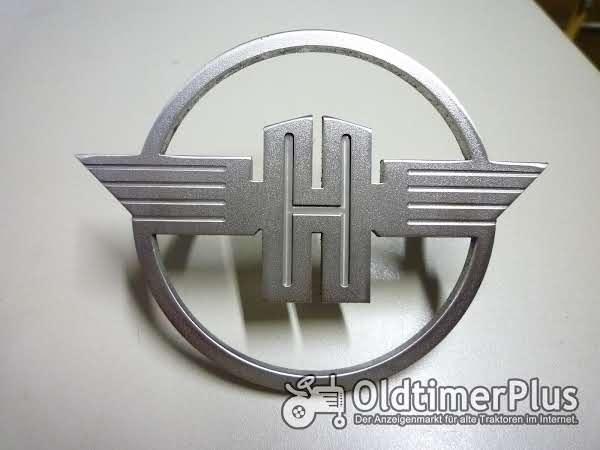 Hanomag Massives Rundes Emblem Foto 1