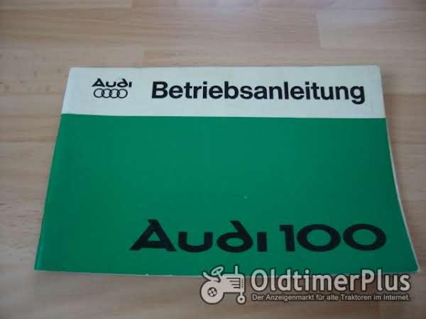 orig. Betriebsanleitung Audi 100 II 1976 Foto 1