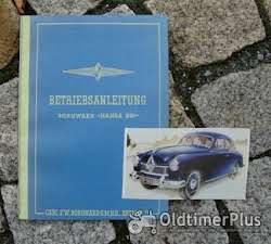 Literatur Betriebsanleitung Borgward Hansa 1800 1953