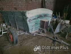 Eigenbau Schlagkarre Anhänger für Traktor Traktoranhänger Kipper