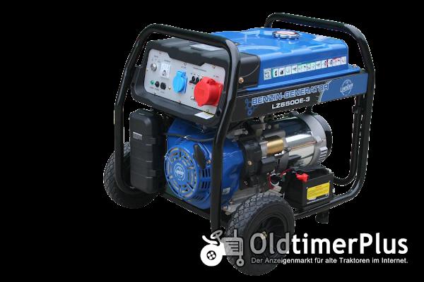E-Start Benzin Stromerzeuger LZ6500E 6,8 KW Generator Neuware OVP Foto 1