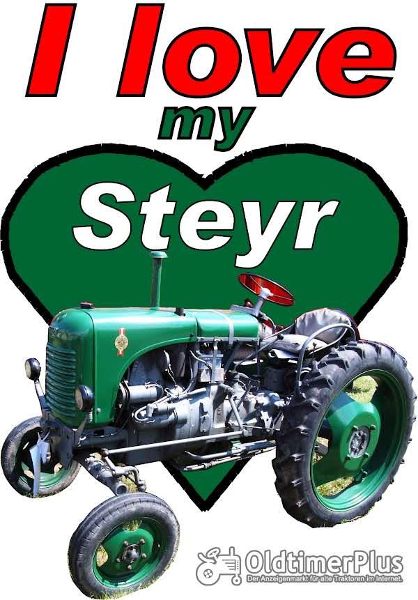 I love Steyr T-Shirt Foto 1