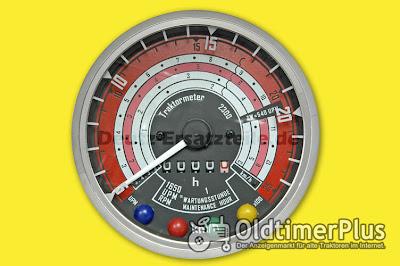 Deutz Traktormeter Foto 3