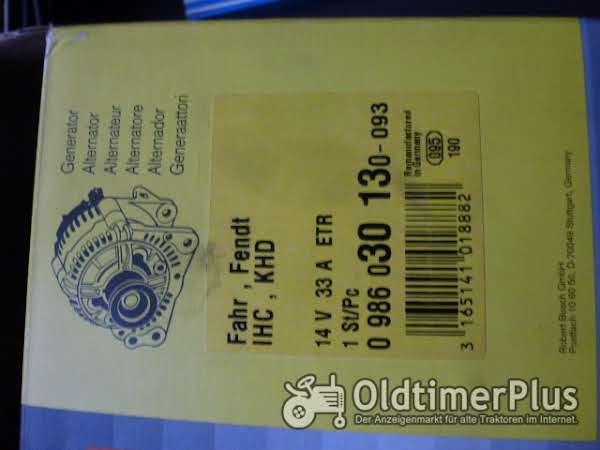 Bosch Lichtmaschine Bosch 0986030130 Foto 1