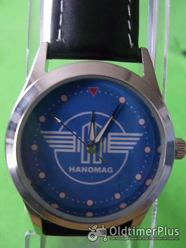 Hanomag Zeichen,blau  Armbanduhr Foto 1