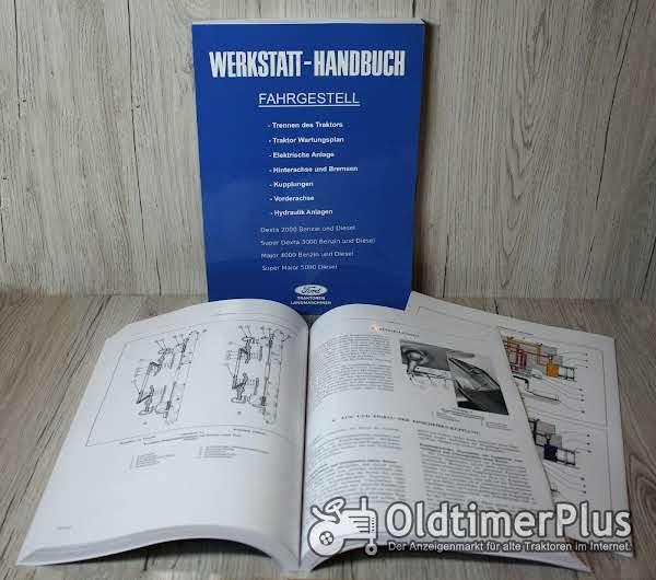 Ford Werkstatthandbuch Fahrgestell Traktor Dexta 2000 Super Dexta 3000 Major 4000 Super Major 5000 Foto 1