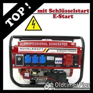 Stromerzeuger Stromgenerator Generator mit E-Start Neuware OVP Foto 1