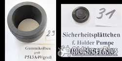 Holder Feldspritze, Ersatzteile, Pumpe, P, Z, K60, K100; K135, K160, Sortiment A Foto 13