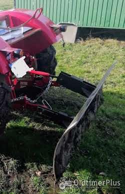 Planierschild, Schneeschild, Schiebeschild für 3 Punkt Hydraulik Oldtimer Schlepper Traktor Foto 3