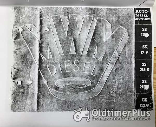 Opel Büssing Hanomag Saurer Mulag Krupp MAN Hansa-Loyd Magirus Dürkop Diesel Motor 1939 neu Foto 1